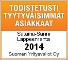 Satama-Sanni Web- ja e-sertifikaatti